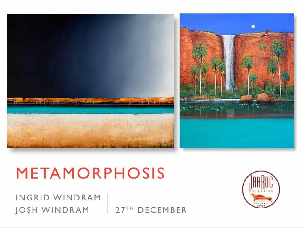 Metamorphosis Exhibition Website Banner Line