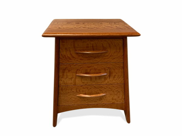 Contempo Wooden Bedside Cabinet