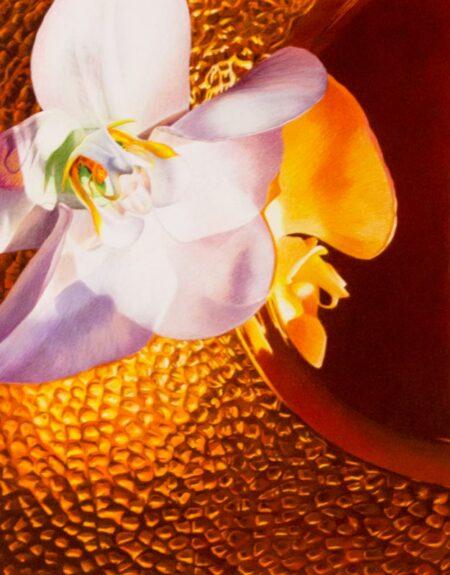 Detail Katiegordon Orchidoncopper Framed