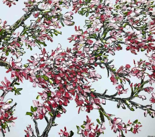 Felicia Aroney Victoria Blossoms Painting