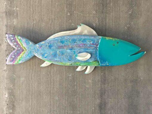 Gabe Heusso Clipper Fish Wall Sculpture