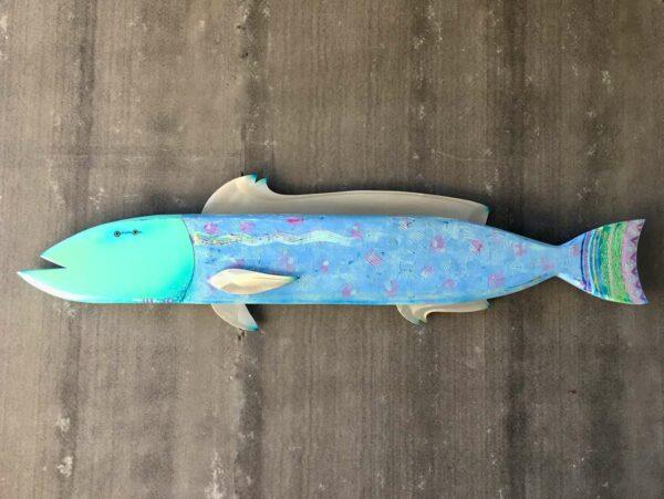 Gabe Heusso Maximus Fish Wall Sculpture