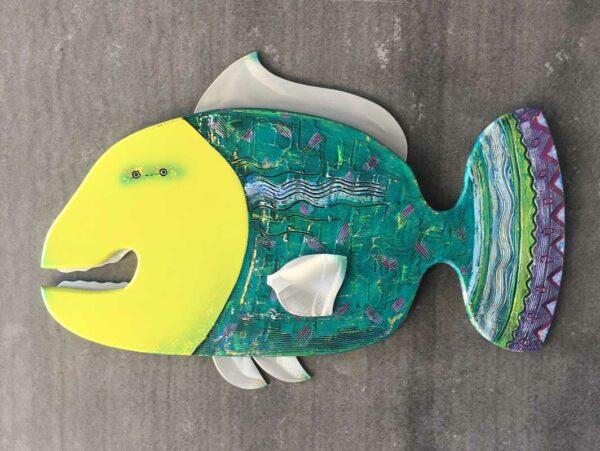 Gabe Heusso Zesto Fish Sculpture