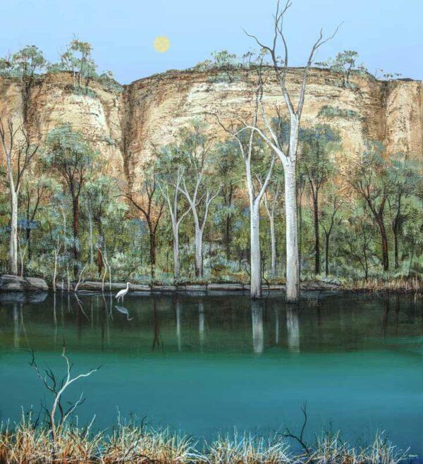 Ingrid Windram Reflecting Painting