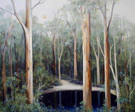Ingrid Windram Secret Pool Painting 1