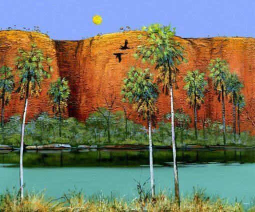 Ingrid Windram Yellow Tails Painting Ed