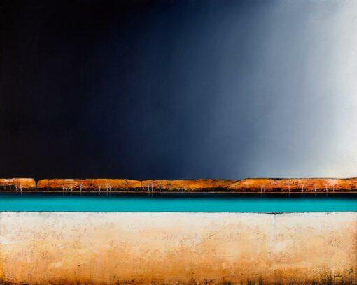 Josh Windram Peace Train Painting