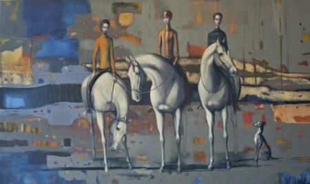 Lauren Wilhelm Country Races Painting