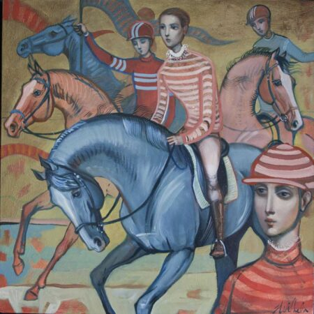 Lauren Wilhelm Courage Painting