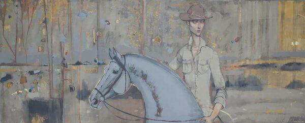 Lauren Wilhelm Home Again Painting