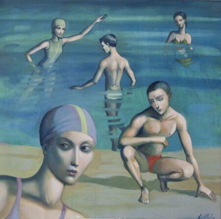 Lauren Wilhelm The Basin Painting