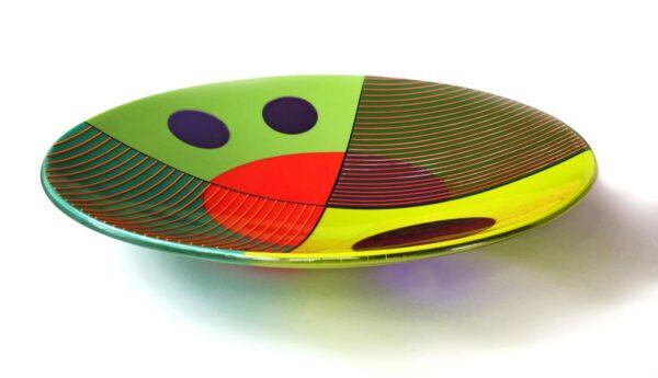 Margaret Heenan Inter Section Glass Bowl