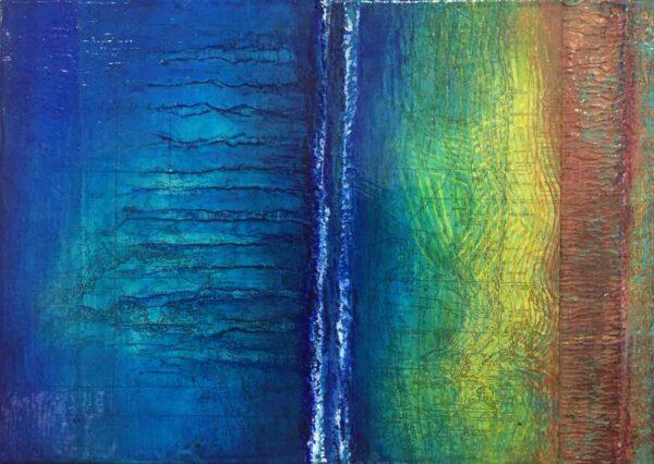 Narelle Pendlebury Blue Beyond Painting