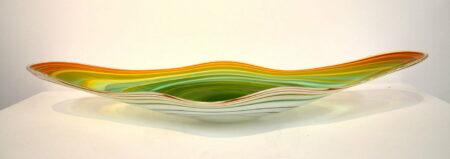 Coolamon Platter Green Orange Side 1200
