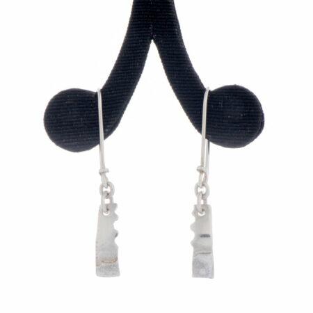 Emma Cotton Fused Jigsaw Earrings