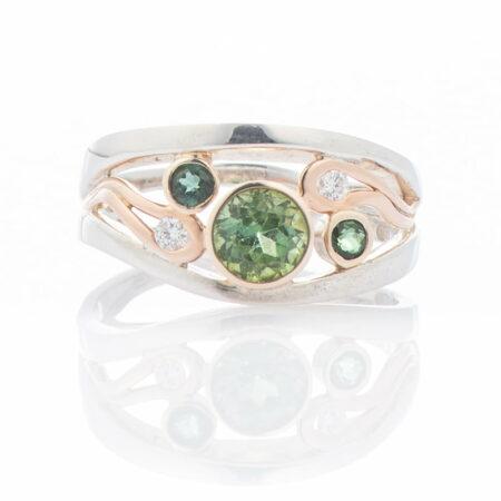 Gemma Baker Green Tourmaline Ring 2
