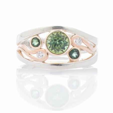 Gemma Baker Green Tourmaline Ring