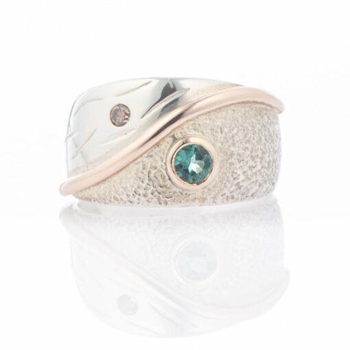 Gemma Baker Ring Blue Tourmaline