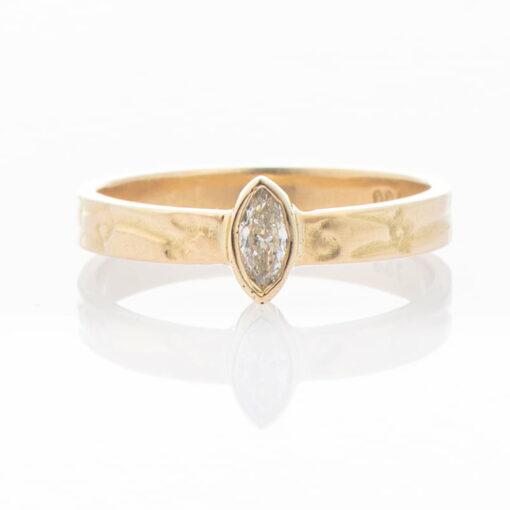 Gemma Baker Ring Diamond 18Ct Jewellery
