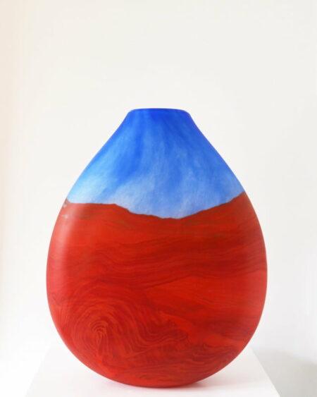 Grant Donladson Landscape Vase Rear