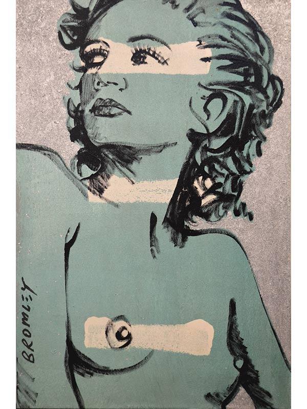 Hillary Sage Silver Painting David Bromley