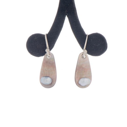 Jane Liddon - Keshi & Pearl Shell Earings