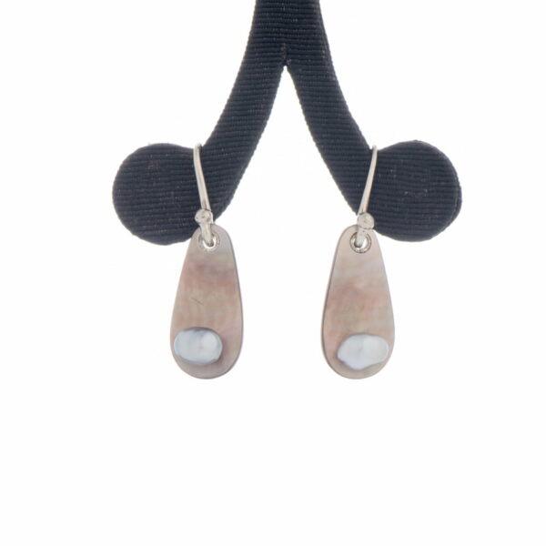 Jane Liddon Earings Keshi Pearl Shell
