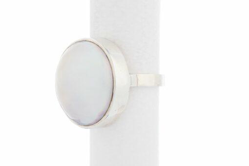 Jane Liddon Ring Round White Mabe Side