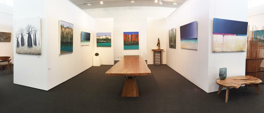 Metamorphosis Exhibition Hanging In The Gallery Ingrid Windram Josh Windram