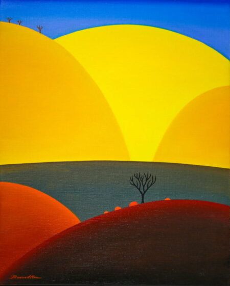 Bonnie Atlan Looking Up Painting