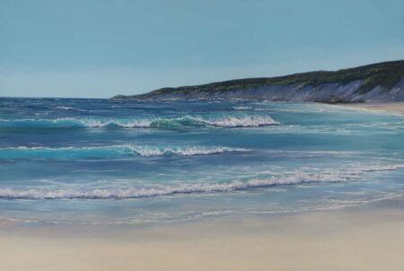 Ann Steer Rolling Swell Yallingup Pastel