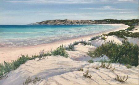 Ann Steer Undulating Dunes Pastel