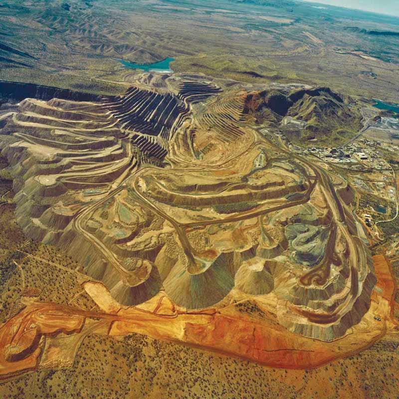 Argyle Diamonds Pit Rio Tinto