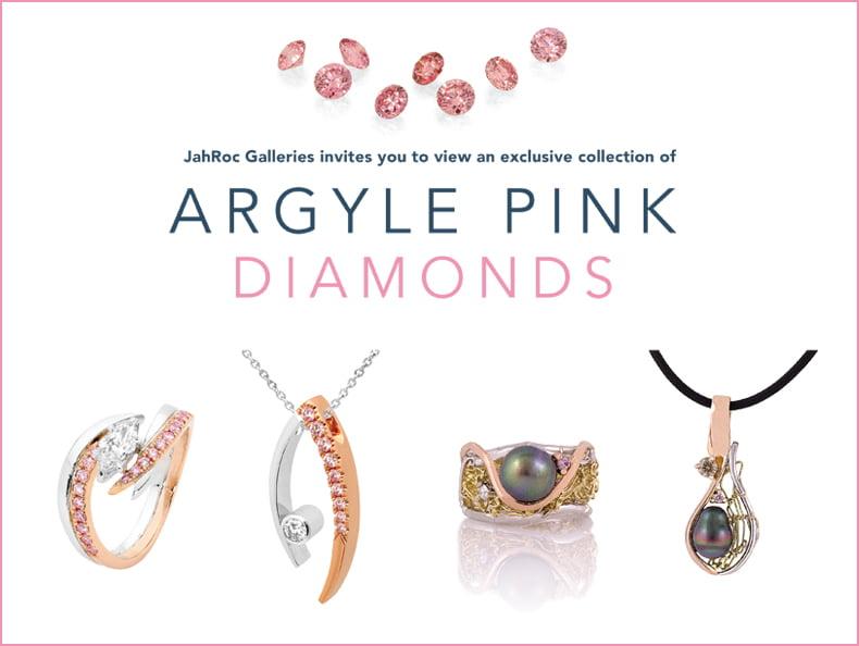 Argyle Pink Diamonds At Jahroc Galleries 1065x800 With Border