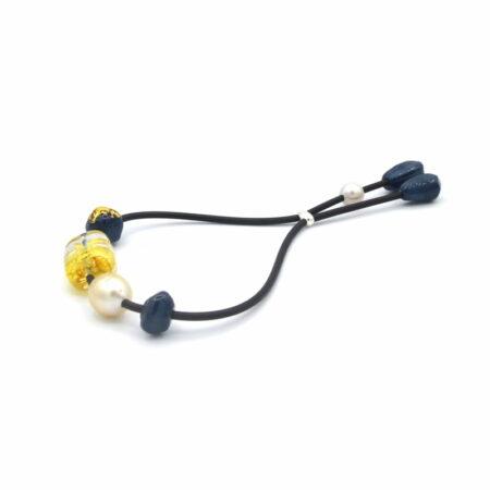 Evelyn Henschke Yellow Pearl Braceletr