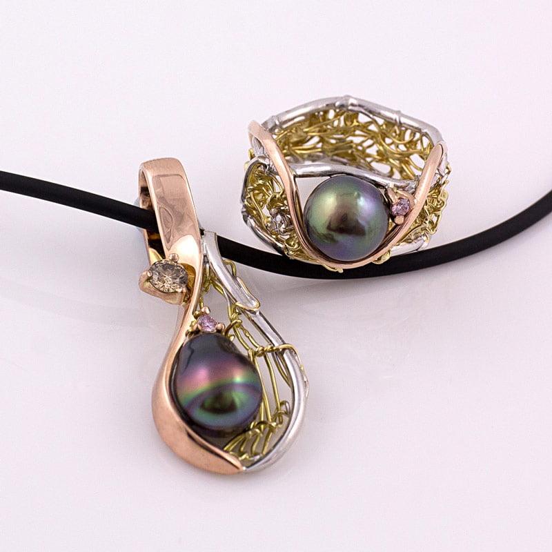 Gemma Baker Jewellery Argyle Pink Diamond Exhibition