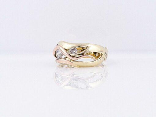 Gemma Baker Kimberley Diamond Ring Side 2