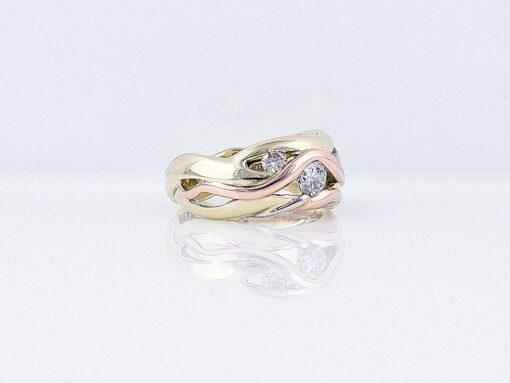 Gemma Baker Kimberley Diamond Ring Side