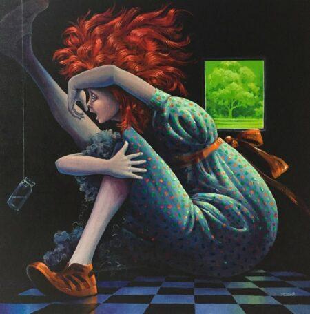 John Mcintosh Big Alice 2 Painting