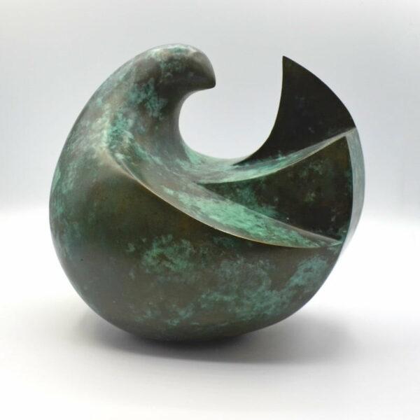 Peace Keeper 1 Brass Sculpture Greg James