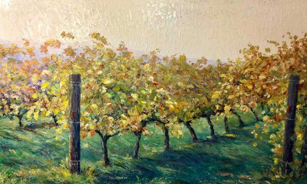 Peter Scott Rhythm Of The Vines 152Cm X 91Cm Painting
