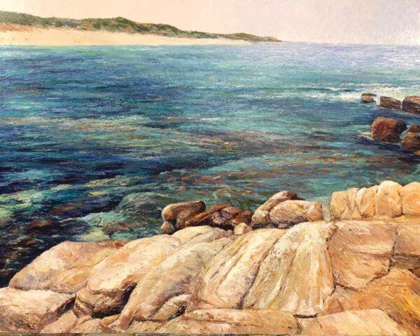 Peter Scott Riflebutts To White Elephant Painting
