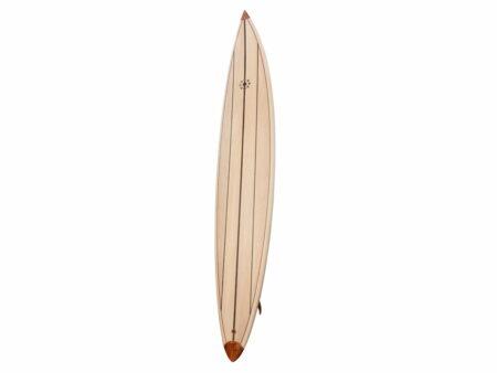 10ft Balsa Hollow Gun Surfboard Front