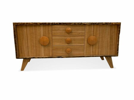 All Eyes Curly Marri Sideboard Front
