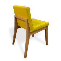 Bremer Dining Chair in Yellow