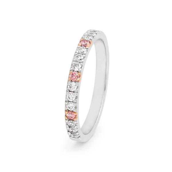 Desert Rose Jewellery Delicate Pink Diamond Wedder Edjw002