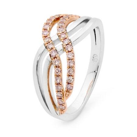 Desert Rose Jewellery In Vogue Pink Diamond Ring Edjr016