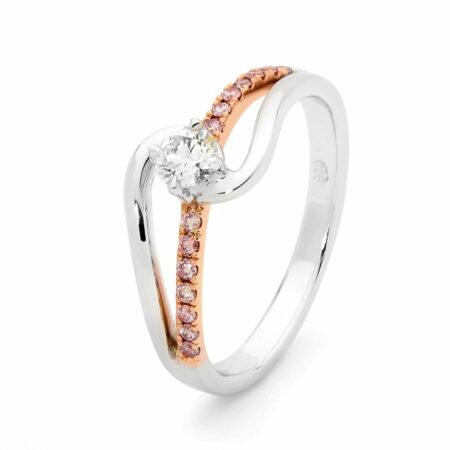 Desert Rosejewellery Divine Pink Diamond Ring Edjr024