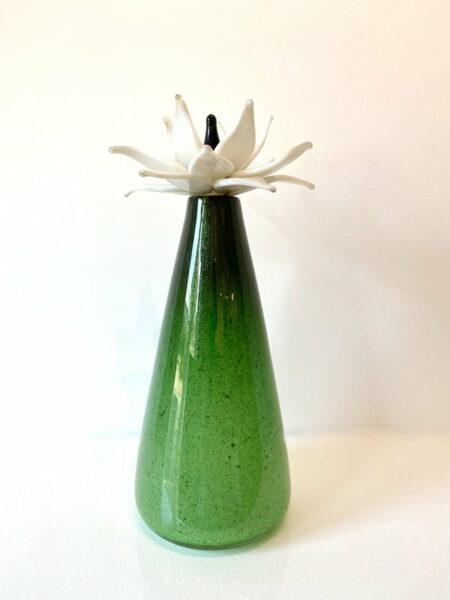 Eileen Gordon Water Lilly White Flower Front