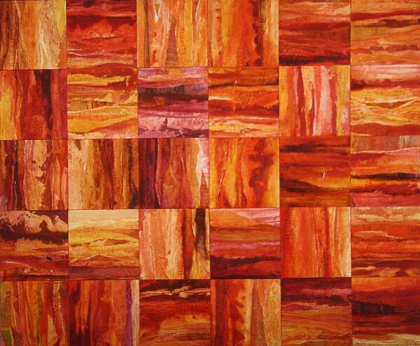 Np33 Narelle Pendlebury Striation Painting